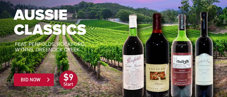 Fine Wine: Aussie Classics ft. Penfolds, Rockford, Wynns