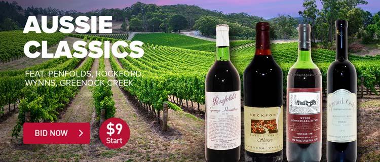 Fine Wine: Aussie Classics ft. Penfolds, Rockford, Wynns