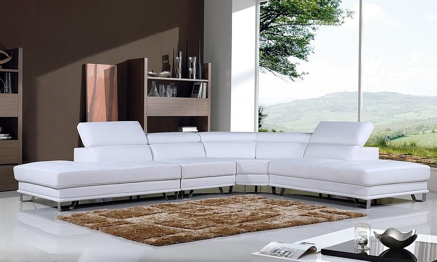 Galaxy - Modular Grand Corner Lounge, White