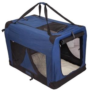 Portable Soft Dog Crate XXXL - BLUE