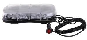 Slimline LED Amber Strobe Light, 12V & 2