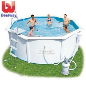buy bestway hydrium poseidon pool set w 6 extras graysonline australia. Black Bedroom Furniture Sets. Home Design Ideas