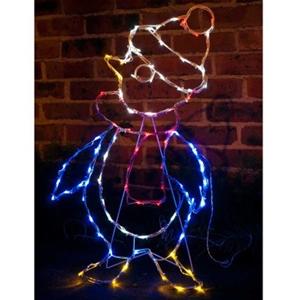 buy christmas solar penguin silhouette lights 83cm graysonline