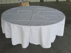 Large Round Table Cloth.1 X Large Round Table Cloths 2 4 Mtrs Diameter Reception Chinese Restaurant
