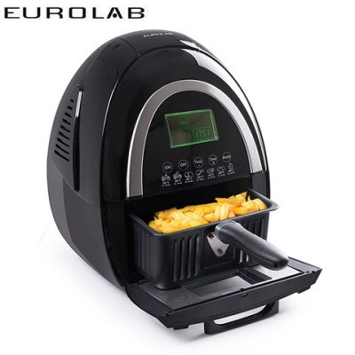 Eurolab Digital Family Size Air Fryer - Black