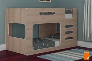 Buy Z3 Low Line Single Bunk Bed Classic Oak Graysonline Australia