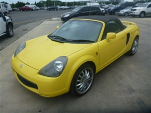 2001 Toyota Mr2 Spyder Roadster 2 Seater Convertible