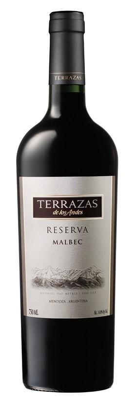 Terrazas De Los Andes Reserva Malbec 2013 6 X 750ml Argentina