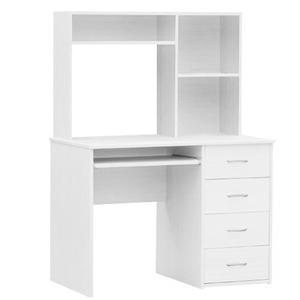 Large White Computer Study Desk Auction | GraysOnline Australia