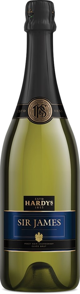 Hardy's `Sir James` Cuvee Brut NV (6 x 750mL), SE AUS.