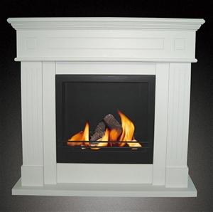 Bio Ethanol Free Standing Portable Fireplace Heater No