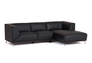 Regolare 2 5 seater sofa w right hand chaise 100 cow for 2 5 seater chaise
