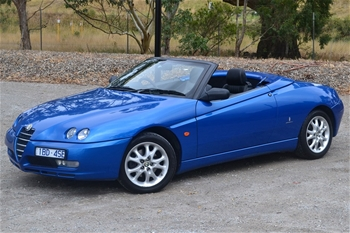 unreserved 2004 alfa romeo spider jts 2.0ltr my04