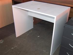Small White Study Desk Scratchea