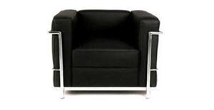 Replica Black Single Le Corbusier Leathe