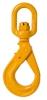 B-ALLOY Eye Swivel Self Locking Hook 13mm, WLL 5400kg, Grade 80. Buyers Not