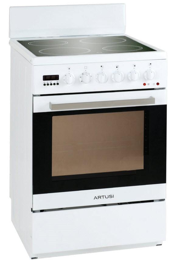 Artusi 54cm Freestanding Vulcan Series Freestanding Cooker (AFC547W)