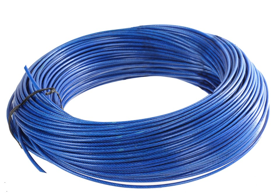 Pvc Coated Wire : Wire rope sheaves graysonline