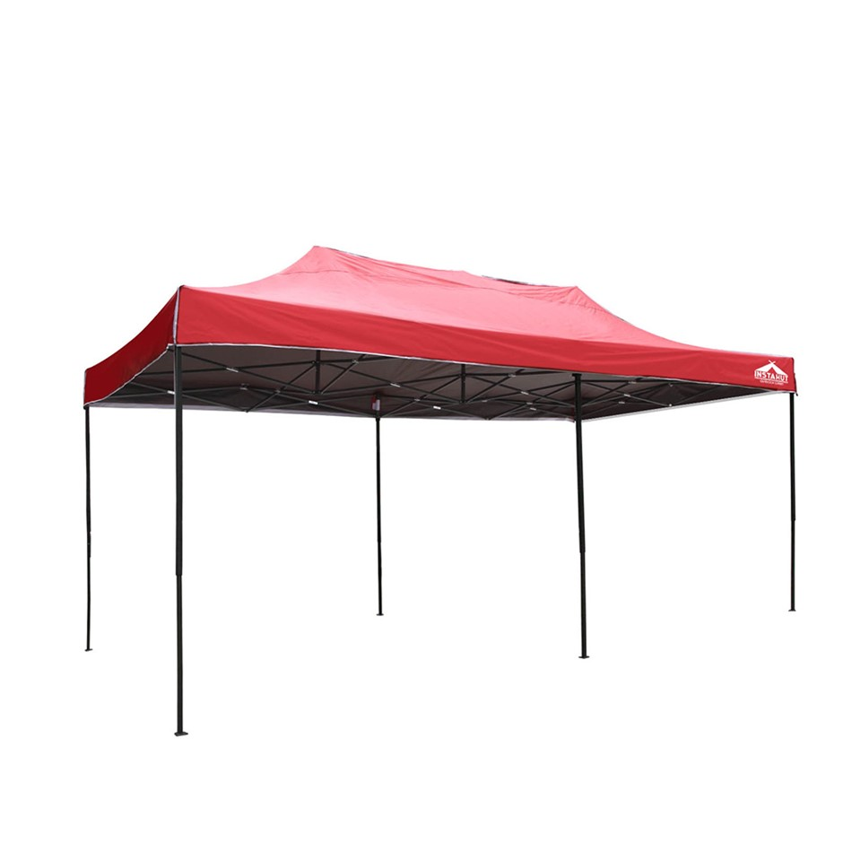 Instahut 3x6m Outdoor Gazebo - Red