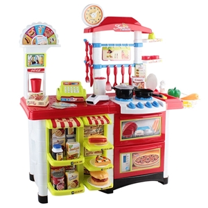 Keezi 59 Piece Kids Super Market Toy Set