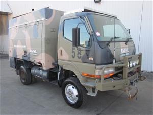 Mitsubishi Canter 4x4 Ex Ambulance Camper 05 2000
