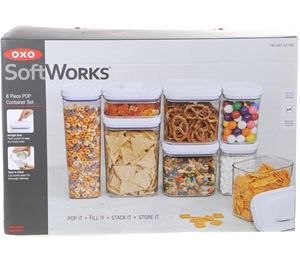Oxo 8pc Pop Container Set Ers Note Freight Rates Ly To Al