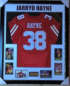 huge discount 44815 6d95e Jarryd Hayne Personally Signed San Francisco 49ers Framed Jersey and COA