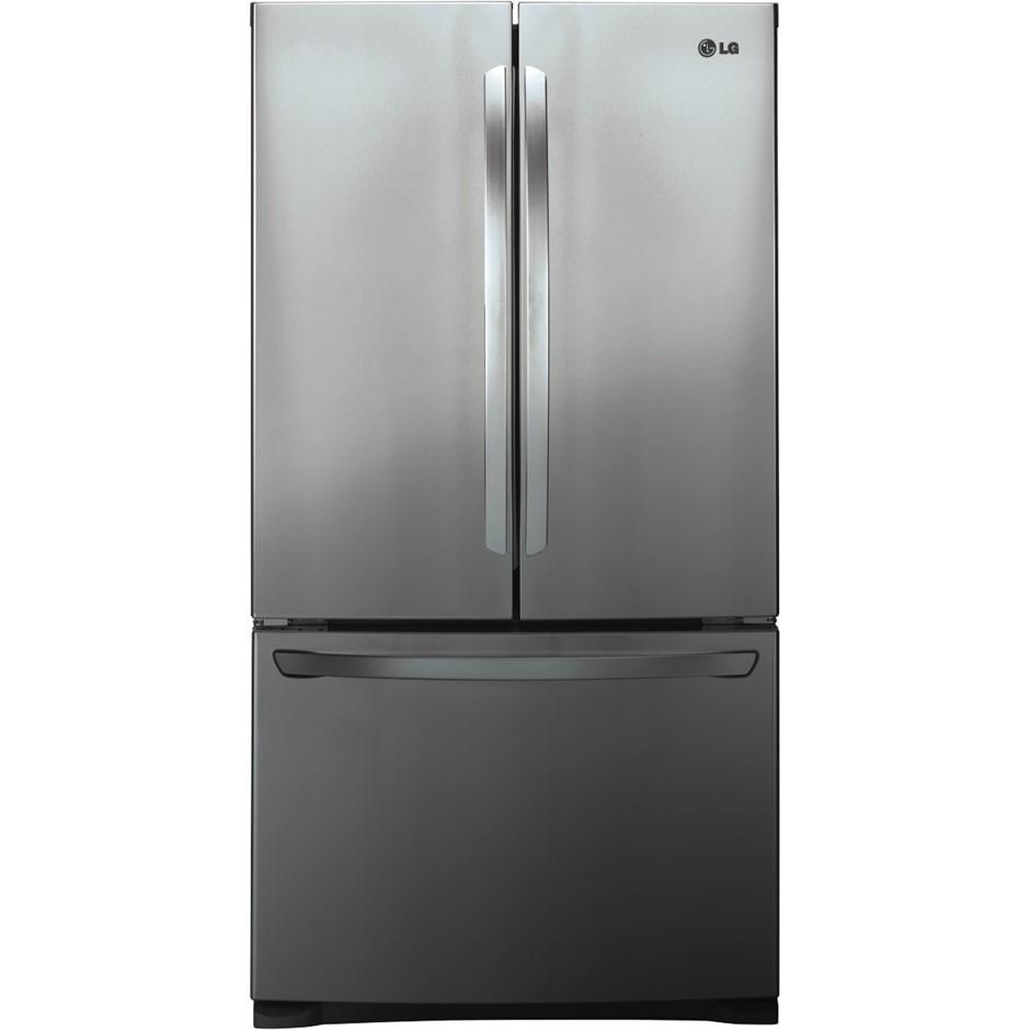 LG 620L French Door Refrigerator in Anti-fingerprint (GF-B620PL)