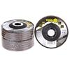 10 x VOREL Flap Discs 115mm, Grit P80. Buyers Note - Discount Freight Rates