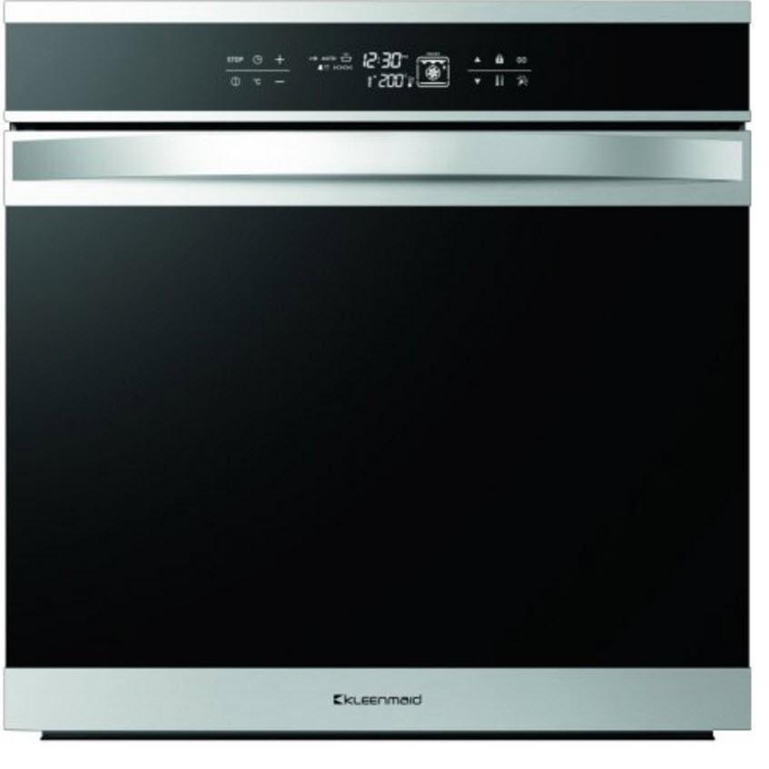 Kleenmaid 60cm Black Krystal Oven (OMF6022)
