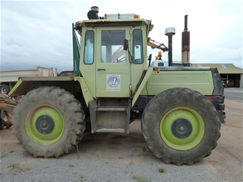 Tractor Mercedes Benz Mb Trac 1100 4wd 1981 Located
