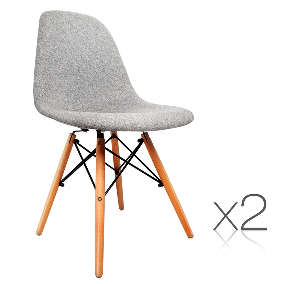 2 x Retro Replica Eames Eiffel DSW Dining Chairscheap dining chairs melbourne   Graysonline. Set Of 4 Replica Eames Eiffel Dsw Dining Chair White. Home Design Ideas