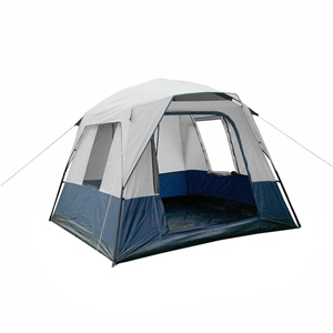 Weisshorn 4 Person Canvas Camping Tent -