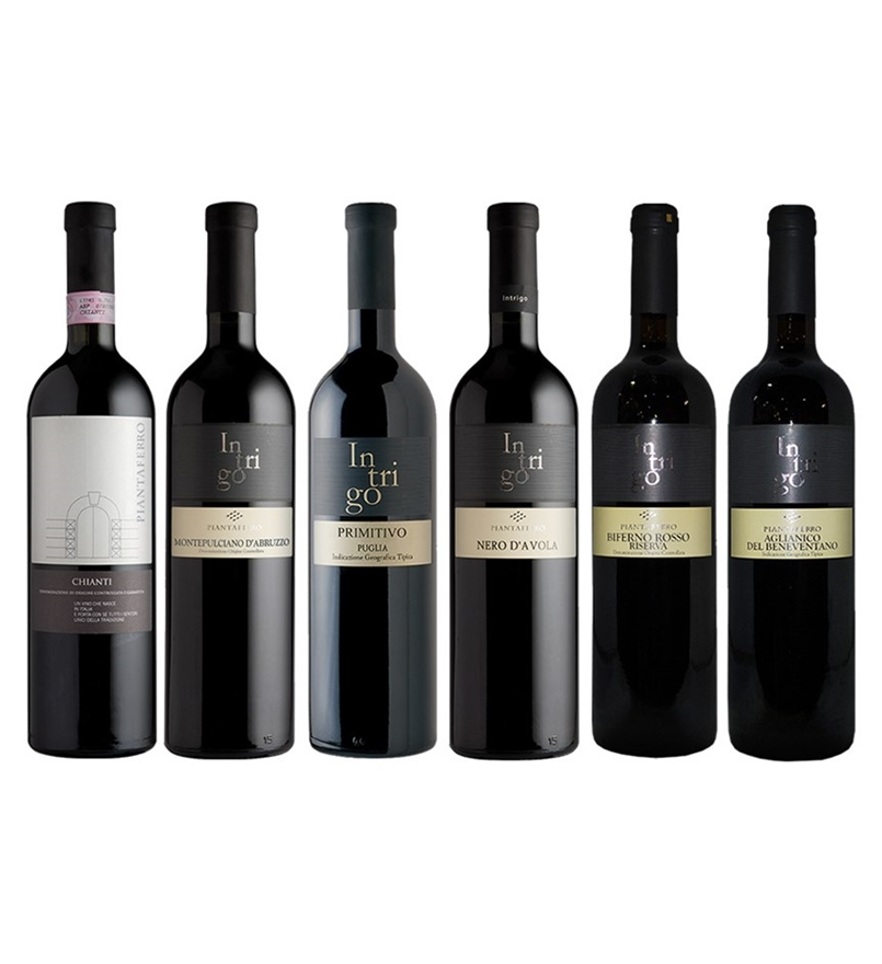 Piantaferro `Intrigo` Italian Wine Lovers Mixed Pack (6 x 750mL), Italy