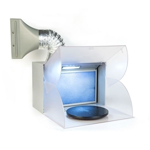 Portable Air Brush LED Spray Booth