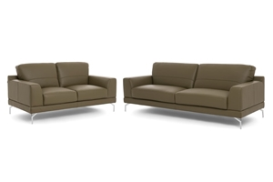 New Leather Sofa Italian Made Lounge 3 2 Seat Sofa Suite