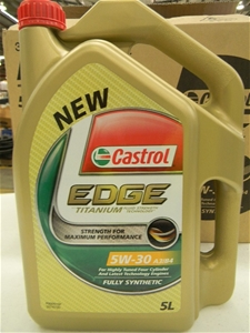 3 x 5ltr motor oil castrol edge titanium 5w 30 a3 b4 172003 86 auction 0086 5003252. Black Bedroom Furniture Sets. Home Design Ideas