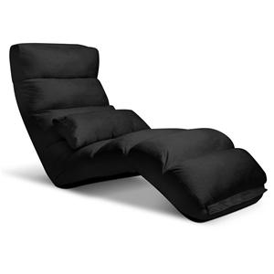 Artiss Adjustable Lounge Sofa Chair - Bl