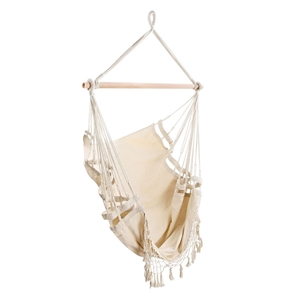 Gardeon Hammock Swing Chair - Cream