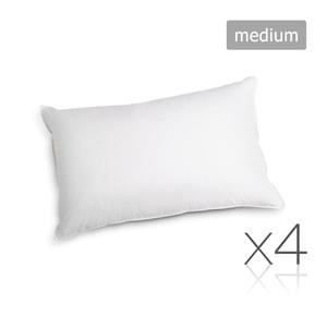 Giselle Bedding Set of 4 Medium Cotton P