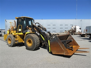 2006 Caterpillar IT62H 4x4 Articulated Wheel Loader With Bucket
