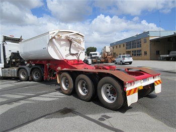 2014 Road West Transport Tri Axle `A` Section Side Tipper