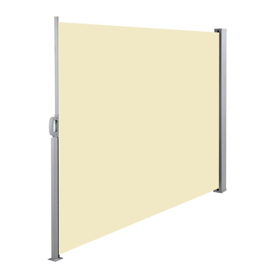 Instahut Retractable Side Awning Shade 1.8 x 3m - Beige