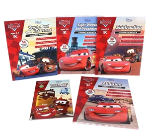 disney pixar cars learning work books addition subtract how to red si auction. Black Bedroom Furniture Sets. Home Design Ideas