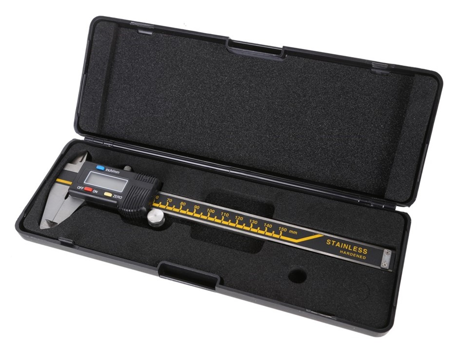 VOREL Digital Vernier 0-150mm Metric & Imperial in PVC Case. Buyers Note -