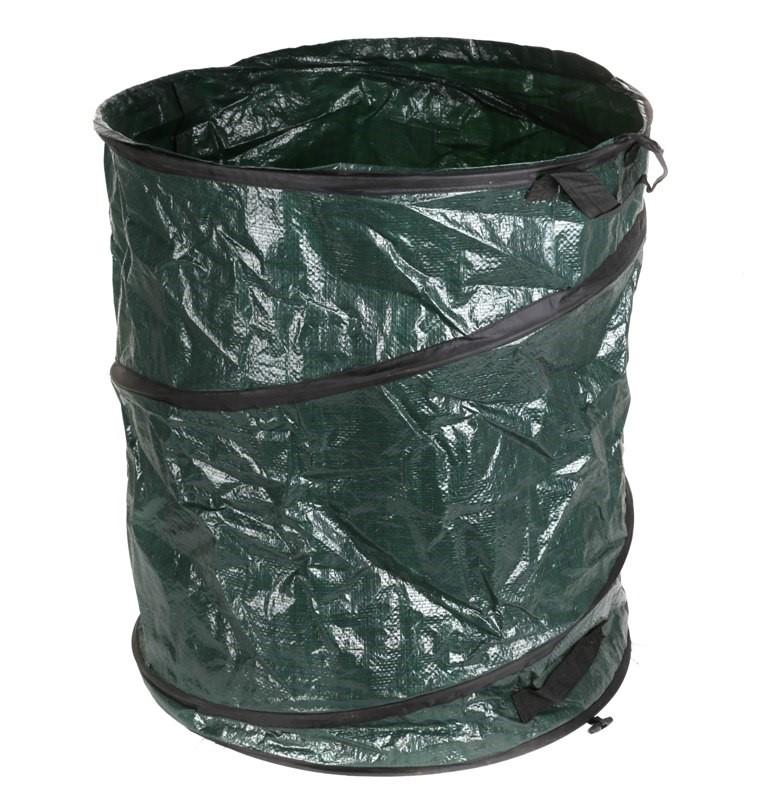 Large Collapsible Garden Leaf Bag 560 x 710mm, PE Tarpaulin Material. (SN:G