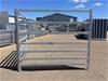 20 Combo Cattle, Sheep, Goat Gal Fencing Panels, 7 rail, 1.8m(h), 2.1m(l)