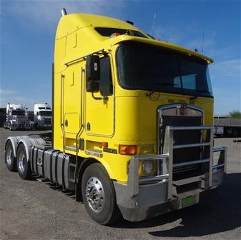 Kenworth K108 6x4 Prime Mover, 2010