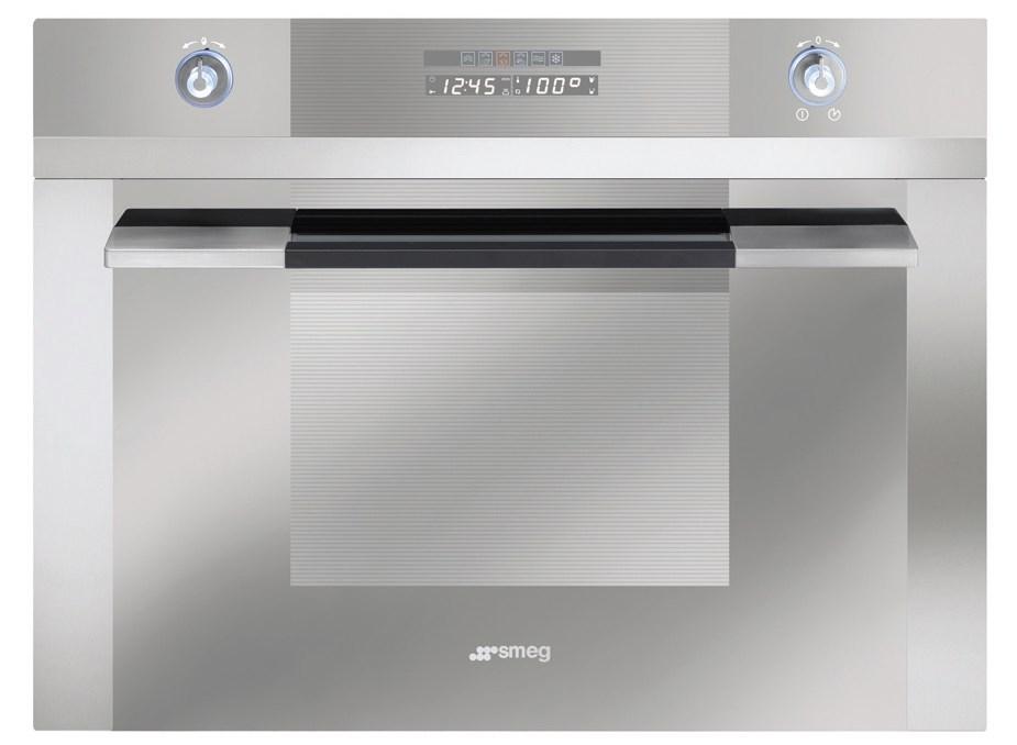 Smeg 60cm Linear Multifunction Compact Steam Oven - Model SCA45V2