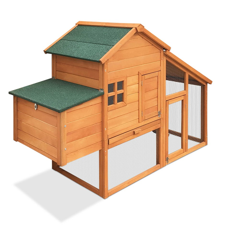 i.Pet 171cm Tall Wooden Chicken Coop